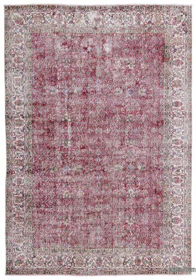 "Turkish Vintage Area Rug - 6' 11"" x 10' 2"" (83 in. x 122 in.)"