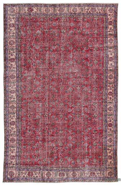"""Turkish Vintage Area Rug - 6'7"""" x 10'2"""" (79 in. x 122 in.)"""
