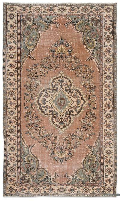 "Turkish Vintage Area Rug - 5'8"" x 9'4"" (68 in. x 112 in.)"