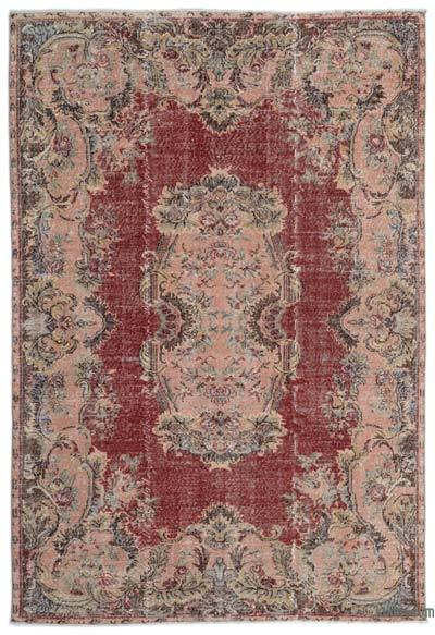 "Turkish Vintage Area Rug - 6'5"" x 9'5"" (77 in. x 113 in.)"