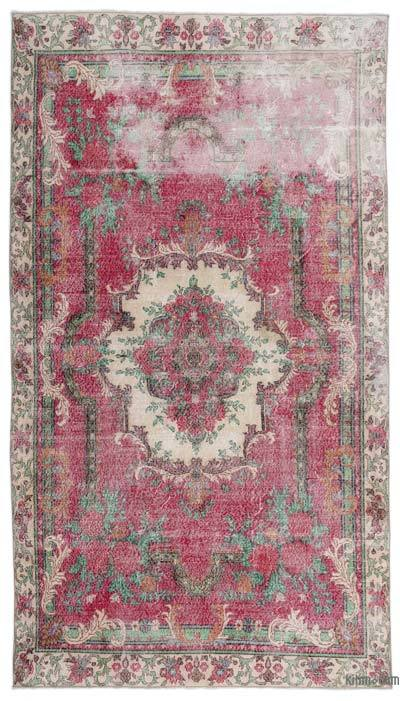"Turkish Vintage Area Rug - 6'3"" x 10'11"" (75 in. x 131 in.)"