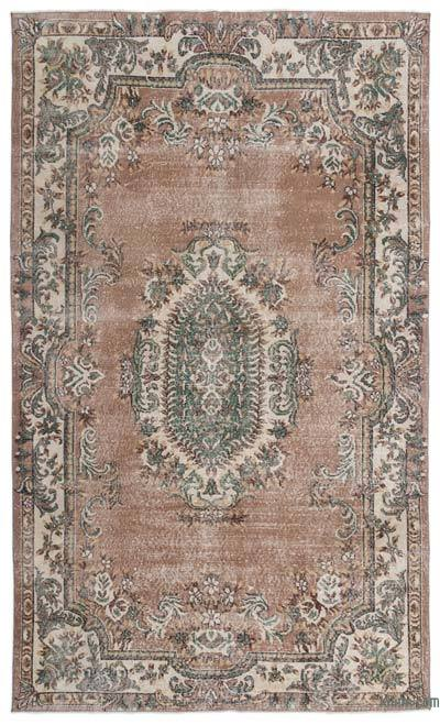 "Turkish Vintage Area Rug - 6'5"" x 10'10"" (77 in. x 130 in.)"