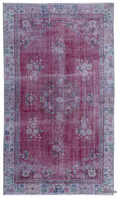 """Turkish Vintage Area Rug - 5' 7"""" x 9' 6"""" (67 in. x 114 in.)"""