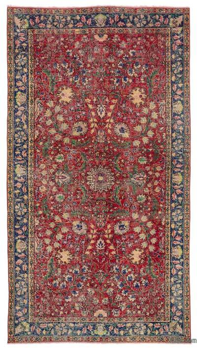 """Turkish Vintage Area Rug - 4' 11"""" x 8' 10"""" (59 in. x 106 in.)"""