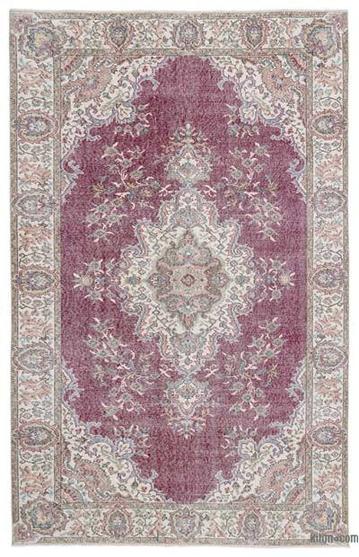 "Turkish Vintage Area Rug - 5'9"" x 8'11"" (69 in. x 107 in.)"