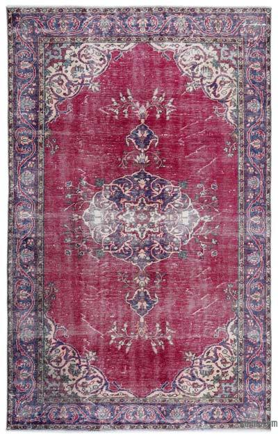 "Turkish Vintage Area Rug - 6' 5"" x 10' 2"" (77 in. x 122 in.)"