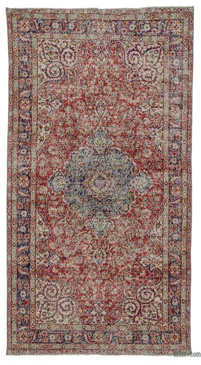 "Turkish Vintage Area Rug - 5' 3"" x 9' 11"" (63 in. x 119 in.)"