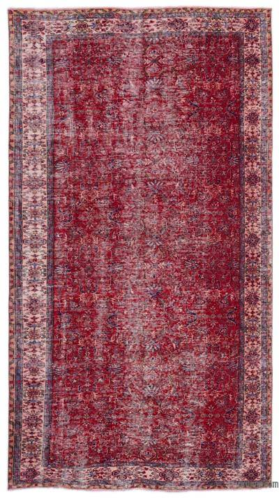 "Turkish Vintage Area Rug - 5'5"" x 10' (65 in. x 120 in.)"