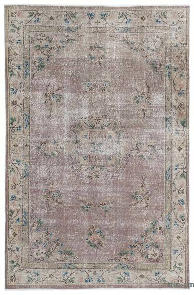 """Turkish Vintage Area Rug - 6'  x 9' 1"""" (72 in. x 109 in.)"""