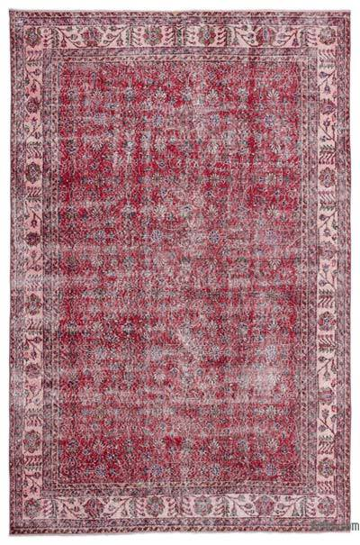 "Turkish Vintage Area Rug - 6'7"" x 9'11"" (79 in. x 119 in.)"