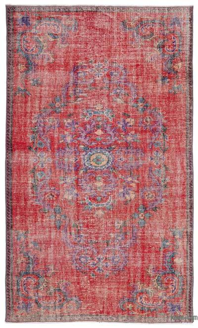 """Turkish Vintage Area Rug - 5'11"""" x 10' (71 in. x 120 in.)"""