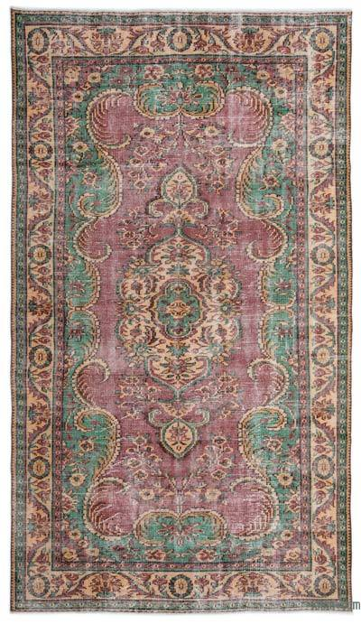 """Turkish Vintage Area Rug - 5'11"""" x 10'5"""" (71 in. x 125 in.)"""