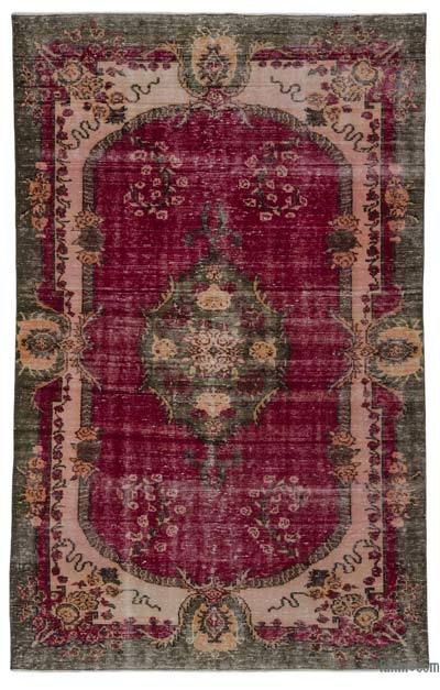 """Turkish Vintage Area Rug - 5' 11"""" x 9' 7"""" (71 in. x 115 in.)"""