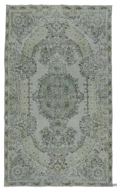 "Over-dyed Turkish Vintage Rug - 5'9"" x 9'10"" (69 in. x 118 in.)"