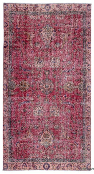 """Turkish Vintage Area Rug - 4'9"""" x 8'10"""" (57 in. x 106 in.)"""