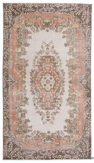 "Turkish Vintage Area Rug - 4' x 7'3"" (48 in. x 87 in.)"