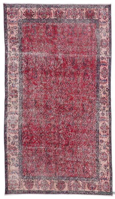 El Dokuma Vintage Halı - 114 cm x 203 cm