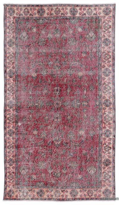 """Turkish Vintage Area Rug - 3'9"""" x 6'11"""" (45 in. x 83 in.)"""
