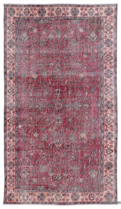 El Dokuma Vintage Halı - 115 cm x 210 cm