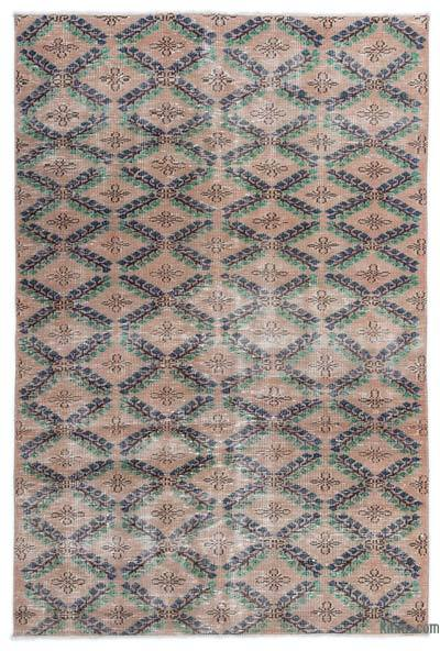 """Turkish Vintage Area Rug - 4'7"""" x 6'11"""" (55 in. x 83 in.)"""