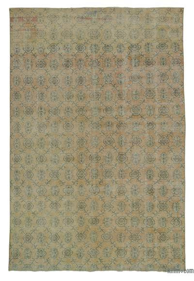 """Turkish Vintage Area Rug - 7'  x 10' 4"""" (84 in. x 124 in.)"""