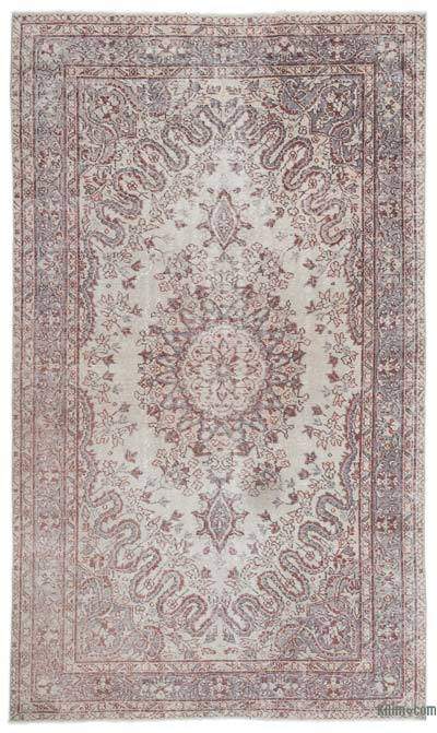 "Turkish Vintage Area Rug - 5'10"" x 9'8"" (70 in. x 116 in.)"