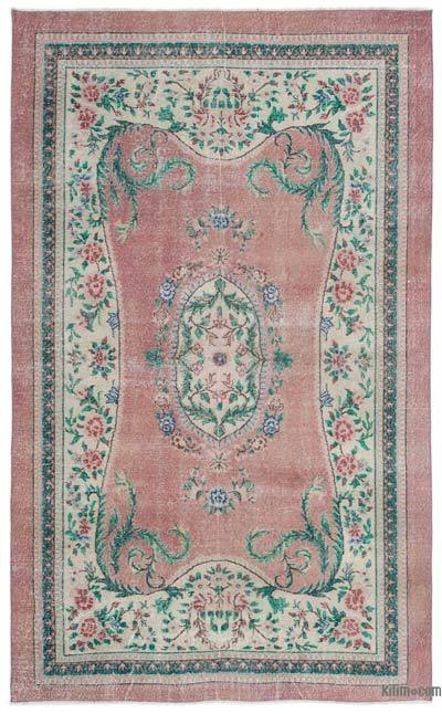 """Turkish Vintage Area Rug - 5' 11"""" x 9' 10"""" (71 in. x 118 in.)"""