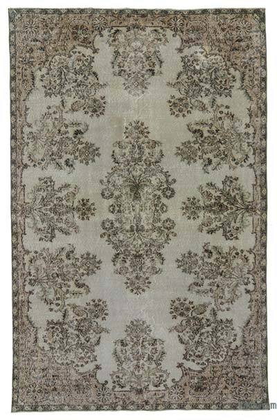 """Vintage Turkish Hand-Knotted Rug - 6'  x 9' 7"""" (72 in. x 115 in.)"""
