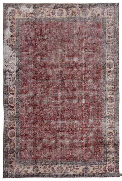 "Turkish Vintage Area Rug - 6'10"" x 10'2"" (82 in. x 122 in.)"
