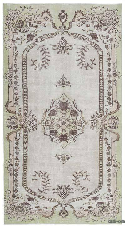El Dokuma Vintage Halı - 162 cm x 295 cm