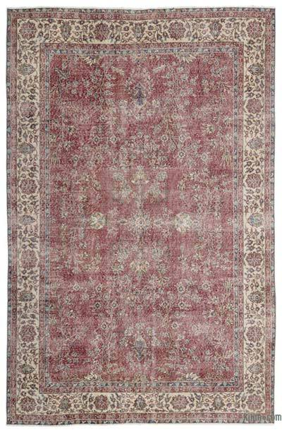 "Turkish Vintage Area Rug - 6' 8"" x 10' 4"" (80 in. x 124 in.)"