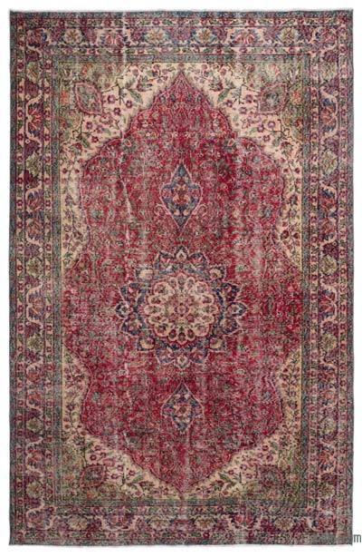 "Turkish Vintage Area Rug - 6'5"" x 9'11"" (77 in. x 119 in.)"