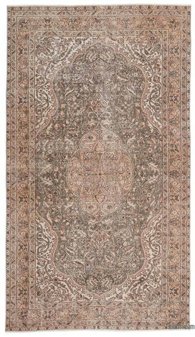 """Turkish Vintage Area Rug - 5'4"""" x 9'6"""" (64 in. x 114 in.)"""