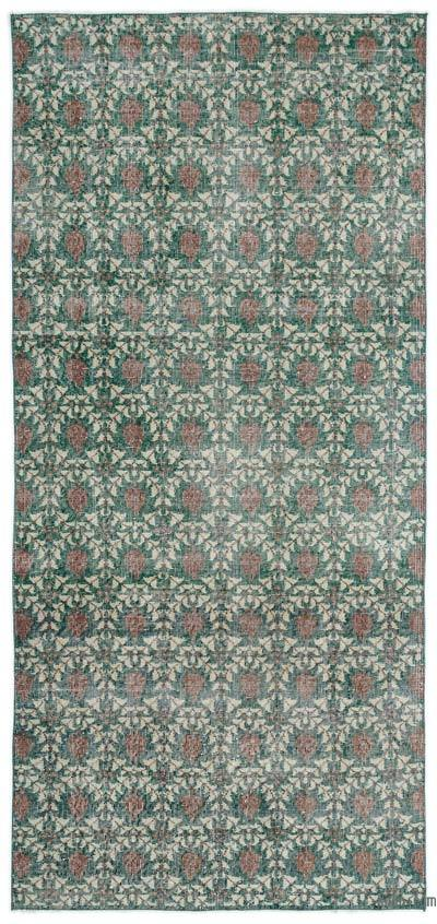 "Turkish Vintage Area Rug - 3'10"" x 8'2"" (46 in. x 98 in.)"