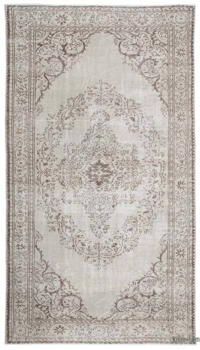 """Over-dyed Turkish Vintage Rug - 5'11"""" x 10'4"""" (71 in. x 124 in.)"""