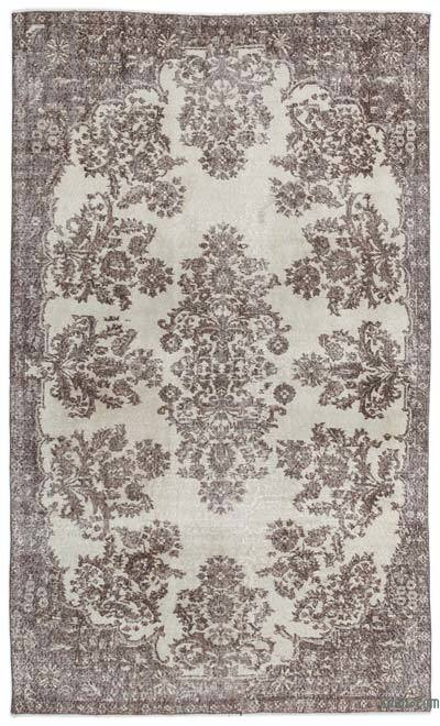 "Over-dyed Turkish Vintage Rug - 5' 6"" x 9' 2"" (66 in. x 110 in.)"