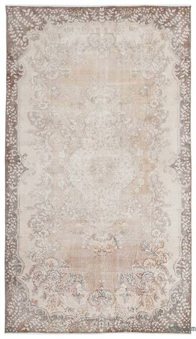 "Over-dyed Turkish Vintage Rug - 5'3"" x 9'3"" (63 in. x 111 in.)"