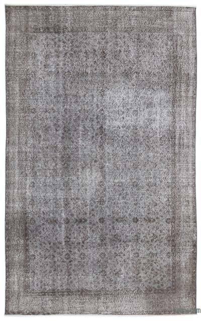 """Over-dyed Turkish Vintage Rug - 5'5"""" x 8'8"""" (65 in. x 104 in.)"""