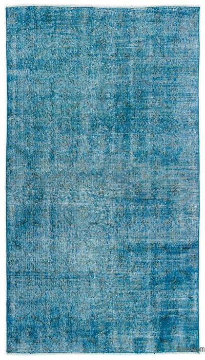 "Over-dyed Turkish Vintage Rug - 3'11"" x 6'11"" (47 in. x 83 in.)"