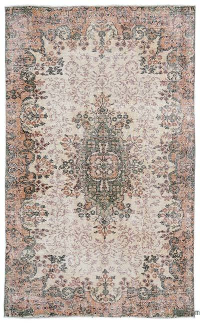 "Turkish Vintage Area Rug - 4'11"" x 8'1"" (59 in. x 97 in.)"