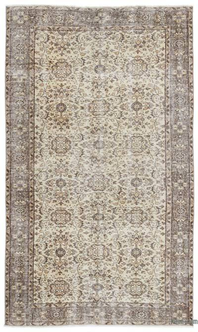"Over-dyed Turkish Vintage Rug - 4'10"" x 8'2"" (58 in. x 98 in.)"