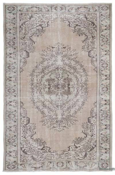 "Over-dyed Turkish Vintage Rug - 6'1"" x 9'5"" (73 in. x 113 in.)"