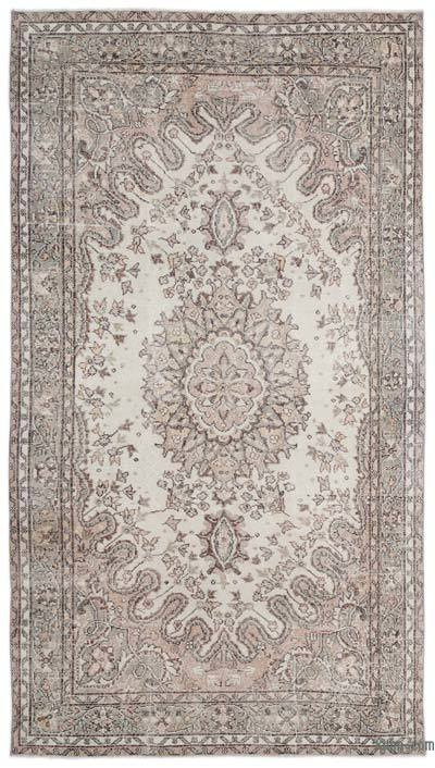 "Over-dyed Turkish Vintage Rug - 5'7"" x 9'11"" (67 in. x 119 in.)"