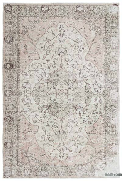 "Over-dyed Turkish Vintage Rug - 5' 8"" x 8' 5"" (68 in. x 101 in.)"