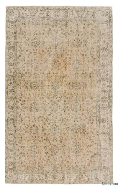 "Turkish Vintage Rug - 5' 5"" x 9' 1"" (65 in. x 109 in.)"