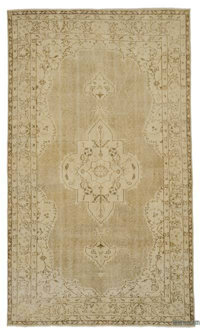 "Over-dyed Turkish Vintage Rug - 5' 8"" x 9' 6"" (68 in. x 114 in.)"