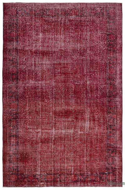 "Over-dyed Turkish Vintage Rug - 6' 11"" x 10' 8"" (83 in. x 128 in.)"