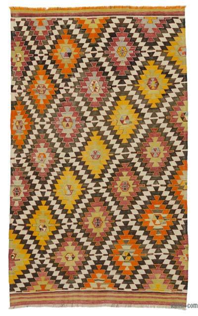 Alfombra Vintage Afyon Kilim - 165 cm x 270 cm