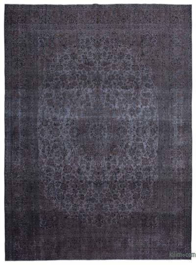 "Over-dyed Vintage Hand-knotted Oriental Rug - 9'6"" x 12'9"" (114 in. x 153 in.)"