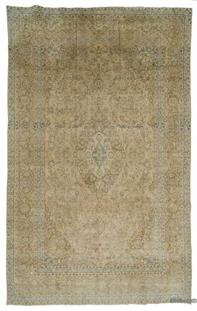 """Vintage Hand-knotted Oriental Rug - 7' 10"""" x 12' 10"""" (94 in. x 154 in.)"""